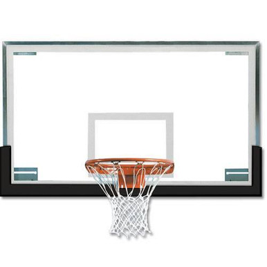 Spalding Superglass™ Collegiate Basketball Backboard Package 1