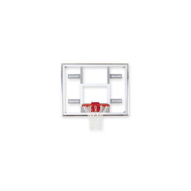 Bison Side Court Conversion Glass Basketball Backboard
