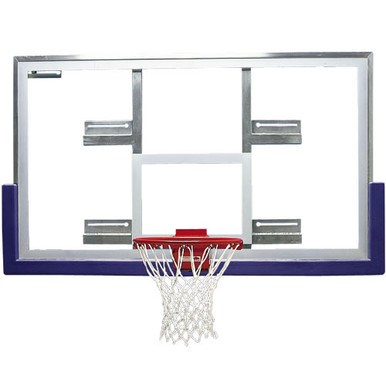 Bison Tall Unbreakable Glass Conversion Basketball Backboard