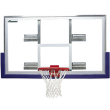 Bison Short Unbreakable Glass Conversion Basketball Backboard