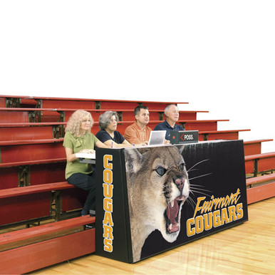 Bison Sport Pride Scorers Table - Bleacher Model