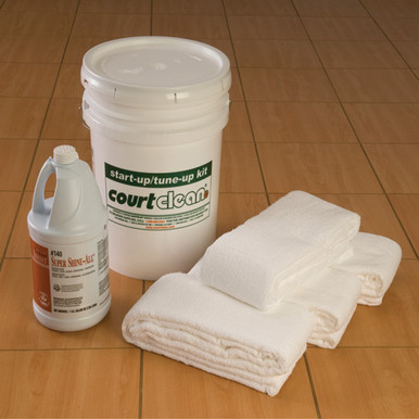 CourtClean 8' Start-Up / Tune-Up Kit