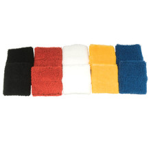 Colored Team Basketball Wristbands (5 Pairs)