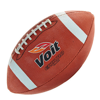 Voit Enduro Rubber Football w/Stitched Laces-Youth