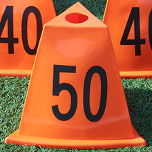 Stackable Football Sideline Marker Set 11 Piece