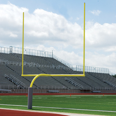 Official High School Gooseneck Goalpost 1
