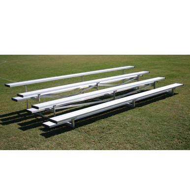 4 Row - 7.5'L Low Rise Bleacher