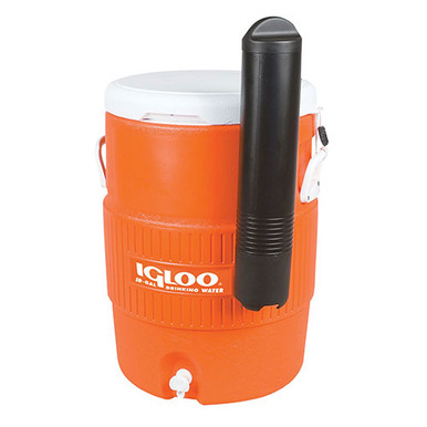 Igloo 10 Gal Orange Seat Top Cooler w/Cup Dispenser