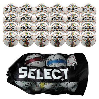 Select United Soccerball 24/Pk-Wht/Yel