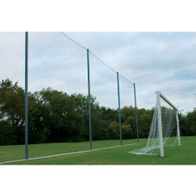 "Alumagoal Backstop 21' x 65'  4"" Mesh Replacement Net"