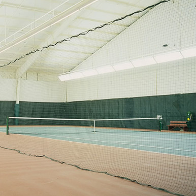 Court Divider Netting - Black