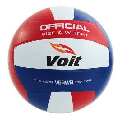 Voit® V5RWB Official-Size Rubber Volleyball
