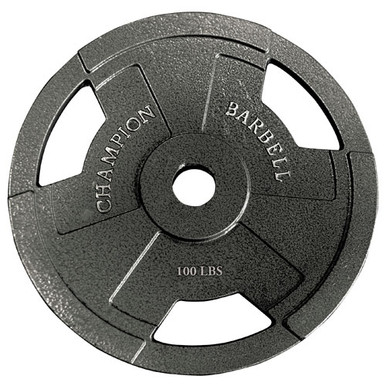 Olympic Grip Plate 100LB