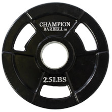 2.5lb Olympic Rubber Coated Grip Plate