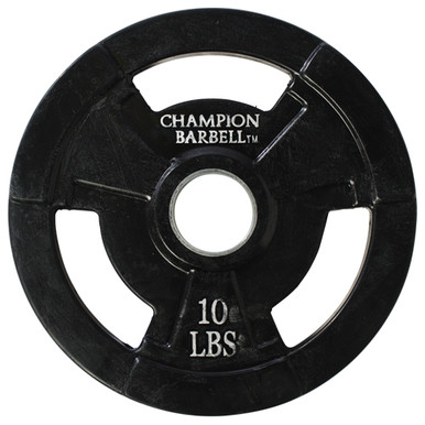 10lb. Olympic Rubber Coated Grip Plate