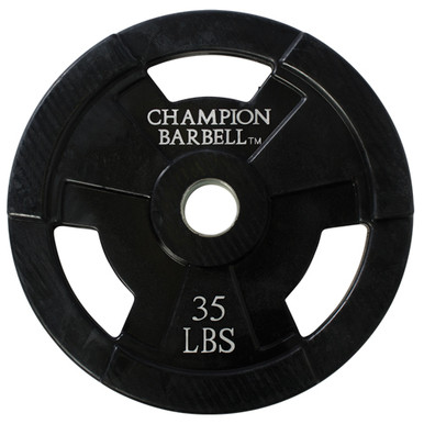 35lb. Olympic Rubber Coated Grip Plate