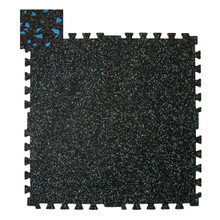 Zip-Tile 28.5x28.5x3/8 Blue Flec