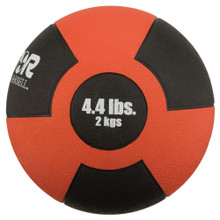 Reactor Rubber Medicine Ball 2kg RED