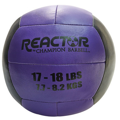 Medicine Ball 17 - 18 lb. Purple