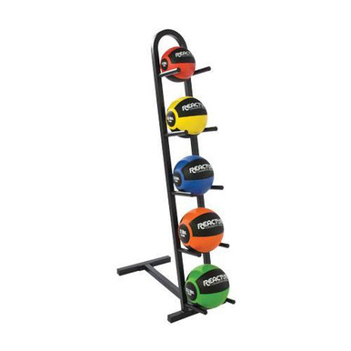 5-Ball Vertical Medicine Ball Rack