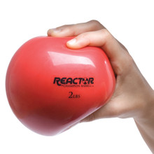 Hand Held Fitness Ball 2lb RED