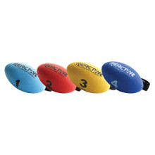 Football Shaped Hand-Held Weight - 1 lb.