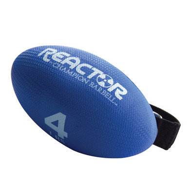 Football Shaped Hand-Held Weight - 4 lbs.