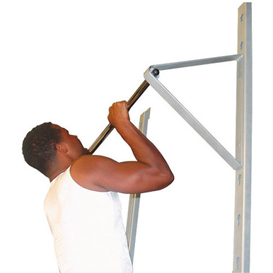 Champion Barbell® Wall-Mounted Adjustable Pull-Up Bar