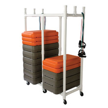 Fitness Step Cart