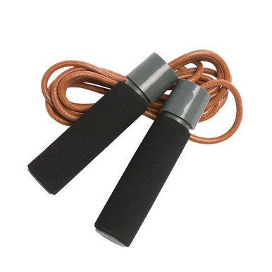 Champion Barbell 9.5 ft. Leather Jump Rope