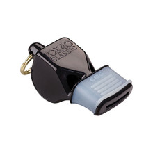 Fox 40 Whistle Classic Black  with Mouth Grip