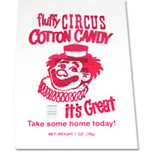 Cotton Candy Bags - 1000 CT