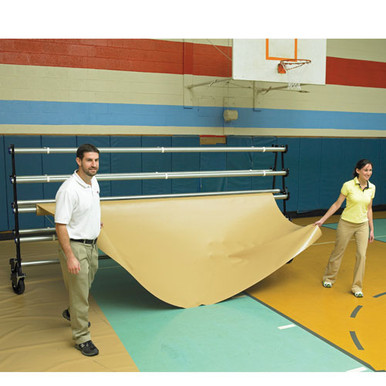 Deluxe Gym Floor Covers - 32 oz.