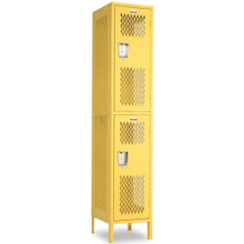 Double Tier Athletic Locker 8
