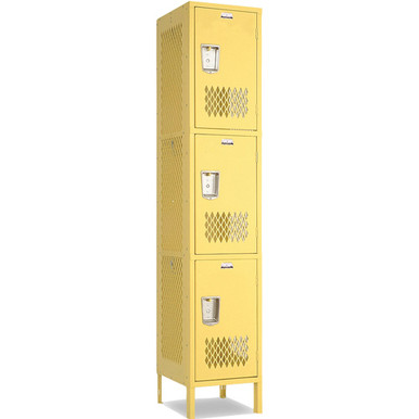 Triple Tier Athletic Locker 17
