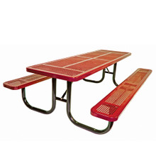 8' Heavy Duty Table Perforated