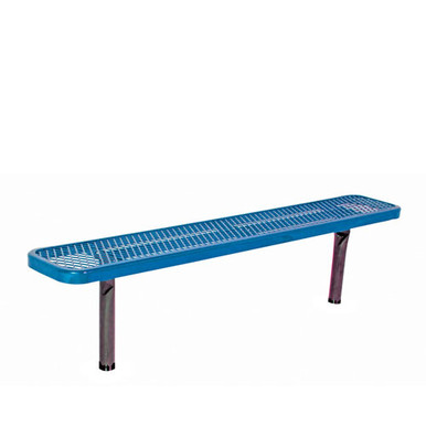 6' Park Bench w/o Back-In-Ground Diamond