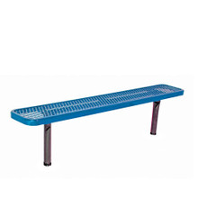 8' Park Bench w/o Back-In-Ground Diamond