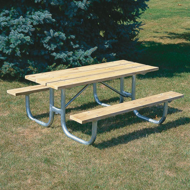 8' H-D Picnic Table - Pressure Treated