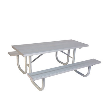 8' Two Sided  ADA PicnicTable - Aluminum