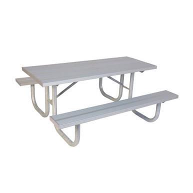 8' One Sided  ADA PicnicTable - Aluminum
