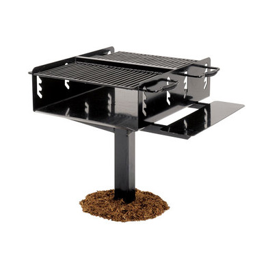Bi-Level Grill (1008 Sq. Inch) In-Ground