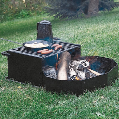 Campfire Ring & Grill