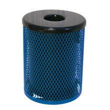 32 Gallon Trash Receptacle  Diamond