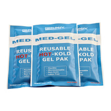 "Medlogix Med-Gel Reusable HOT-Kold Gel Pak  4"" x 6"""