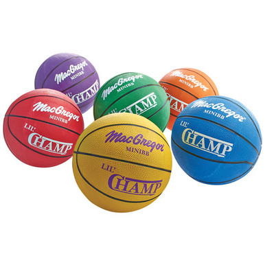 MacGregor® Lil' Champ 22 in. Mini Indoor/Outdoor Basketball