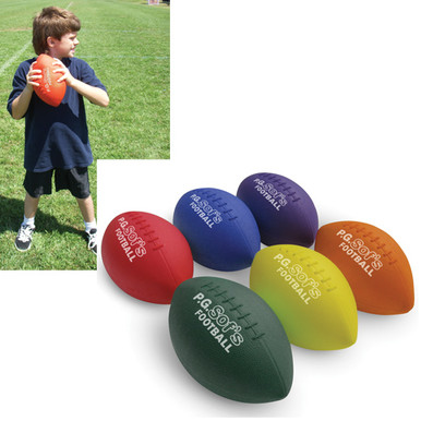 "Color My Class® 7 1/2"" Long P.G. Sof's Football"