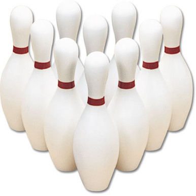Lightweight Bowling Pins - Set of 10