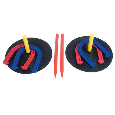Indoor/Outdoor Horseshoe Set