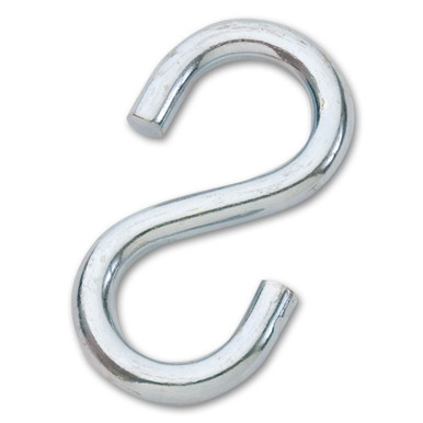 "3/8"" Galvanized Large S-Hook"